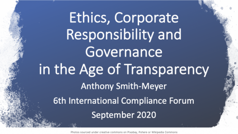 Shifting Sands of Accountability in the Age of Transparency